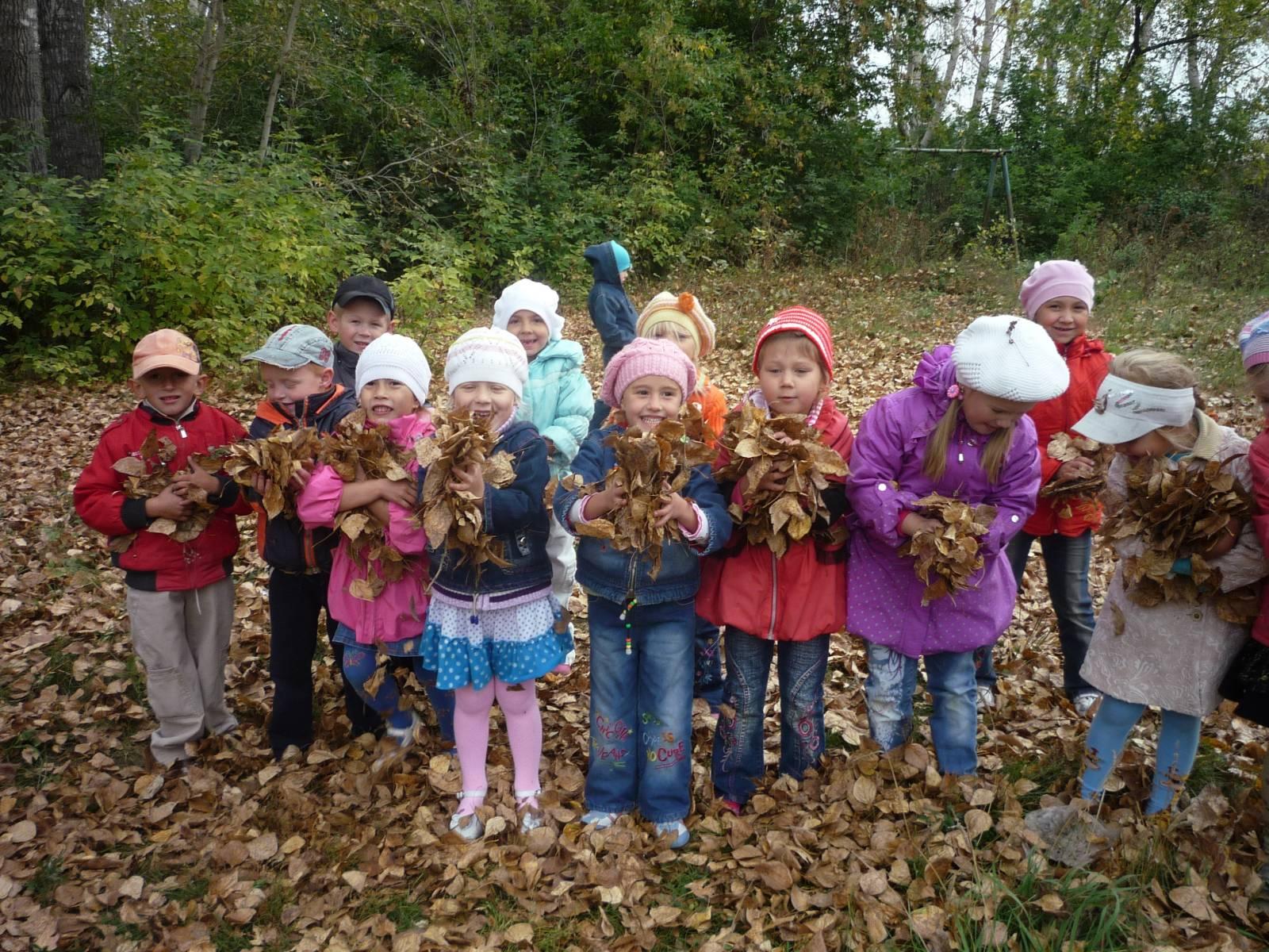 Экскурсия в лес с детьми и фото
